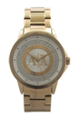 AX4321 Gold-Tone Stainless Steel Bracelet Watch by Armani Exchange for Women - 1 Pc Watch