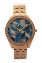 AX5528 Gold-Tone Stainless Steel Mosaic Watch by Armani Exchange for Women - 1 Pc Watch