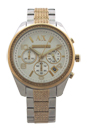 AX5518 Crystal Accent Chronograph Bracelet Watch by Armani Exchange for Women - 1 Pc Watch