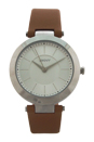 NY2293 Stanhope Brown Leather Strap Watch by DKNY for Women - 1 Pc Watch