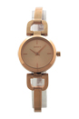 NY8542 Rose Gold-Tone Stainless Steel Bracelet Watch by DKNY for Women - 1 Pc Watch