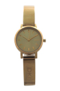 NY2307 Soho Gold-Tone Stainless Steel Half-Bangle Bracelet Watch by DKNY for Women - 1 Pc Watch