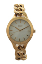 NY2217 Chambers Gold-Tone Stainless Steel Chain Bracelet Watch by DKNY for Women - 1 Pc Watch
