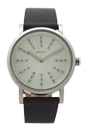 NY2421 Soho Gray Leather Strap Watch by DKNY for Women - 1 Pc Watch