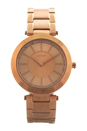 NY2287 Stanhope Rose Gold-Tone Stainless Steel Bracelet Watch by DKNY for Women - 1 Pc Watch