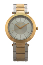 NY2334 Stanhope Two-Tone Stainless Steel Bracelet Watch by DKNY for Women - 1 Pc Watch