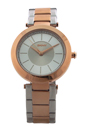 NY2335 Stanhope Two-Tone Stainless Steel Bracelet Watch by DKNY for Women - 1 Pc Watch