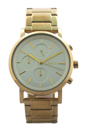 NY2274 Chronograph Soho Gold Ion Plated Stainless Steel Bracelet Watch by DKNY for Women - 1 Pc Watch