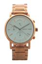 NY2275 Chronograph Soho Rose Gold Ion Plated Stainless Steel Bracelet Watch by DKNY for Women - 1 Pc Watch