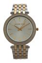 MK3215 Darci Two-Tone Stainless Steel Bracelet Watch by Michael Kors for Women - 1 Pc Watch