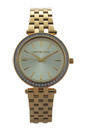 MK3365 Mini Darci Gold-Tone Stainless Steel Bracelet Watch by Michael Kors for Women - 1 Pc Watch