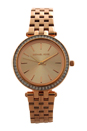 MK3366 Mini Darci Rose Gold-Tone Stainless Steel Bracelet Watch by Michael Kors for Women - 1 Pc Watch