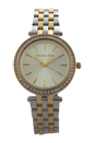 MK3405 Mini Darci Two-Tone Stainless Steel Bracelet Watch by Michael Kors for Women - 1 Pc Watch