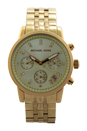 MK5676 Chronograph Ritz Gold-Tone Stainless Steel Bracelet Watch by Michael Kors for Women - 1 Pc Watch