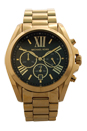 MK5739 Chronograph Bradshaw Gold-Tone Stainless Steel Bracelet Watch by Michael Kors for Women - 1 Pc Watch