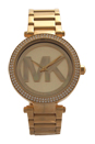 MK5784 Parker Gold-Tone Stainless Steel Bracelet Watch by Michael Kors for Women - 1 Pc Watch