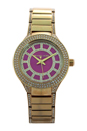 MK3442 Mini Kerry Gold-Tone Stainless Steel Bracelet Watch by Michael Kors for Women - 1 Pc Watch