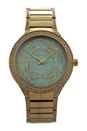 MK3481 Kerry Crystal Accent Gold-Tone Stainless Steel Bracelet Watch by Michael Kors for Women - 1 Pc Watch