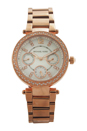 MK5616 Chronograph Mini Parker Rose Gold-Tone Stainless Steel Bracelet Watch by Michael Kors for Women - 1 Pc Watch