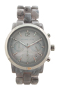 MK6310 Chronograph Audrina Gray Bracelet Watch by Michael Kors for Women - 1 Pc Watch