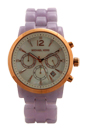 MK6312 Chronograph Audrina Lavender Bracelet Watch by Michael Kors for Women - 1 Pc Watch