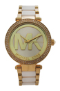 MK6313 Parker Two-Tone Stainless Steel Bracelet Watch by Michael Kors for Women - 1 Pc Watch