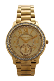 MK6287 Chronograph Madelyn Gold-Tone Stainless Steel Bracelet Watch by Michael Kors for Women - 1 Pc Watch