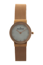 358SRRD Rose Gold Ion Plated Stainless Steel Mesh Bracelet Watch by Skagen for Women - 1 Pc Watch