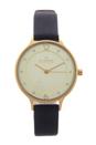 SKW2266 Anita Black Leather Strap Watch by Skagen for Women - 1 Pc Watch