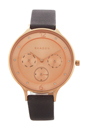 SKW2392 Chronograph Anita Gray Leather Strap Watch by Skagen for Women - 1 Pc Watch