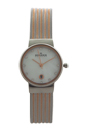 SKW2260 Ancher Brown Leather Strap Watch by Skagen for Women - 1 Pc Watch