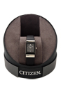 EW9215-01E Eco-Drive Black Leather Strap Watch by Citizen for Women - 1 Pc Watch