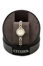 EW8464-52D Eco-Drive Silhouette Two Tone Bracelet Watch by Citizen for Women - 1 Pc Watch