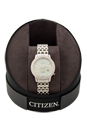 EW2280-58D Eco-Drive Diamond Accent Stainless Steel Bracelet Watch by Citizen for Women - 1 Pc Watch