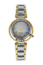 EM0324-58D Eco-Drive Sunrise Diamond Two-Tone Stainless Steel Bracelet Watch by Citizen for Women - 1 Pc Watch