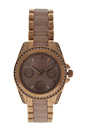 MK6175 Mini Blair Multi Function Two Tone Bracelet Watch by Michael Kors for Women - 1 Pc Watch