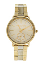 MK3510 Jaryn Gold Dial Ladies Watch by Michael Kors for Women - 1 Pc Watch