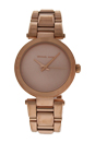 MK3518 Delray Rose Tone Stainless Steel Watch by Michael Kors for Women - 1 Pc Watch