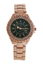 2033L-GPGR Rose Gold Stainless Steel Bracelet Watch by Kim & Jade for Women - 1 Pc Watch