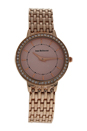 REDS15-RGP Sophie - Rose Gold Stainless Steel Bracelet Watch by Jean Bellecour for Women - 1 Pc Watch
