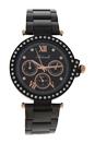 AL0519-14 Black Stainless Steel Bracelet Watch by Antoneli for Women - 1 Pc Watch