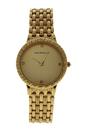 REDS20 Dufrene - Gold Stainless Steel Bracelet Watch by Jean Bellecour for Women - 1 Pc Watch