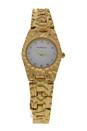 REDS23-GW Duclos - Gold Stainless Steel Bracelet Watch by Jean Bellecour for Women - 1 Pc Watch
