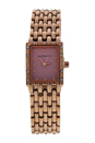 REDS25-RGP Comtesse - Rose Gold Stainless Steel Bracelet Watch by Jean Bellecour for Women - 1 Pc Watch