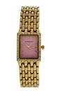 REDS25-GP Gold Stainless Steel Bracelet Watch by Jean Bellecour for Women - 1 Pc Watch