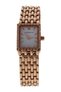 REDS25-RGW Rose Gold Stainless Steel Bracelet Watch by Jean Bellecour for Women - 1 Pc Watch