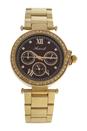 AL0519-12 Gold Stainless Steel Bracelet Watch by Antoneli for Women - 1 Pc Watch