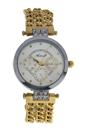 AL0704-04 Silver/Gold Stainless Steel Bracelet Watch by Antoneli for Women - 1 Pc Watch