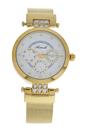 AL0704-05 Gold Stainless Steel Mesh Bracelet Watch by Antoneli for Women - 1 Pc Watch