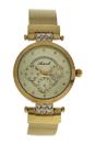 AL0704-06 Gold Stainless Steel Bracelet Watch by Antoneli for Women - 1 Pc Watch